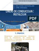 Lineasdeconduccion-manual de Su Construccion