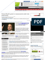 Nawaz Sharif's party to commemorate nuke tests anniversary