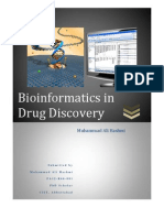 Bioinformatics in Drug Discovery