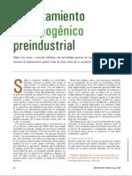 Calentamiento antropogénico preindustrial (IyC 344 may05)