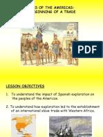 aztecs beginning of a trade