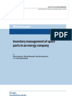 Inventory management of spare parts in an energy company.pdf