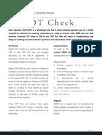 EDCH ServiceSheet IOTCheck v2.0