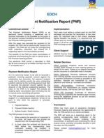 EDCH ServiceSheet PNR e.1.0