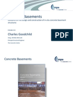 Concrete Basements the New Design Guide