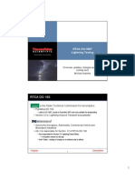Updates on RTCA DO-160 Lightning Test