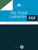 Big Digital Leadership | The Future of Working
