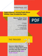 Digital Illiteracy among Smartphone Puerto Rican Middle Class Users