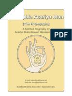 Acariya Mun Bhuridatta - A Spiritual Biography — with Photographs.