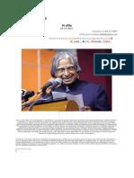 Dr.kalam's Profile