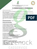 Autodesk Inventor LT - Formation de Base Luxembourg - Belgique - Lorraine tase