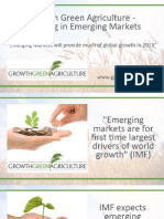 Growth Green Agriculture - Emerging Markets