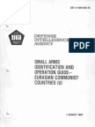 DST-1110H-394-76 1983 - Small Arms Identification Eurasian Communist Countries