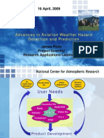 Advances in Aviation Weather Hazard