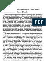 Gundry - A Response to Methodological Unorthodoxy (JETS 26-1-Pp095-100) (1983)