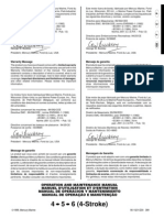 Mariner 4stroke Outboard Manual