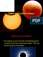 Solar and Lunar Eclipses1