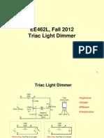 2 EE462L Triac Light Dimmer PPT