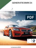 BMW Z4 Prijslijst 03 2013