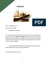 Final Report of University