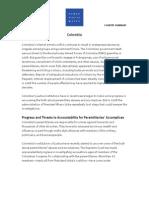 Informe de Derechos Humanos en Colombia en el 2009, de Human Rights Watch