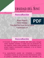 AUSCULTACIÓN presentacion