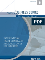 3666243 International Trade Contracts a Practical Guide for Exporters Ventura LuiClement