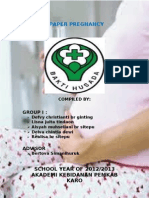 A Paper Pregnancy