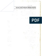 Mass Transfer Operations - Robert Treybal