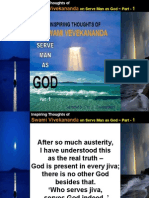 Inspiring Thoughts of Swami Vivekananda on Serve Man as God - Part - 1