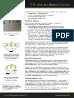 IR Window Installation Overview