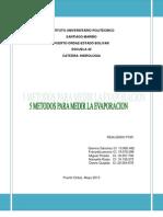 5 Metodos Para Medir La Evaporacion - Copia