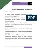 La Riforma Brunetta Ed Il Licenziamento Disciplinare Del Dipendente Pubblico