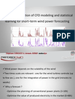 Meteodyn CFD Micro Scale Modeling Statistical Learning Neural Network Wind Power Forecasting