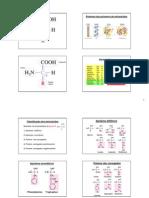 AAs e Proteinas 1 - FG 2012