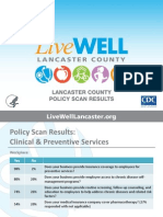 LiveWELL Lancaster County Policy Scan 2012