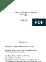 industrial sociology