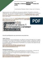 Grupo de debate Fotografía e Internet1