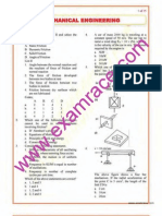 Mechanical Engineering Objective Questions Part 9