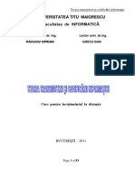 Teoria Transmiterii Si Codificarii Informatiei 2011