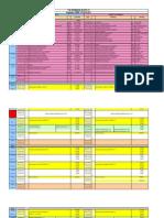 Schedule Block 11(2011)