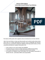 Parish Profile 2013 - Salter Street and Shirley