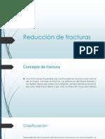 Reducción de fracturas