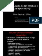 Ikm8 Ukuran Dan Indikator Kesehatan Masyarakat Compatibility Mode