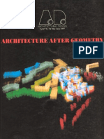 AD - Architecture After Geometry