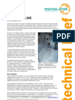Hydraulic Lime - An Introduction
