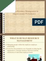 Human resourceHRM