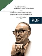 Silvio Frondizi Las Izquierdas