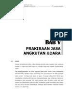 Bab 5 Prakiraan Permintaan Jasa Angkutan Udara