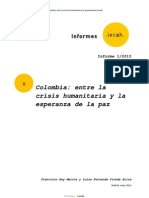 Colombia Crisishumanitaria Esperanzadepaz